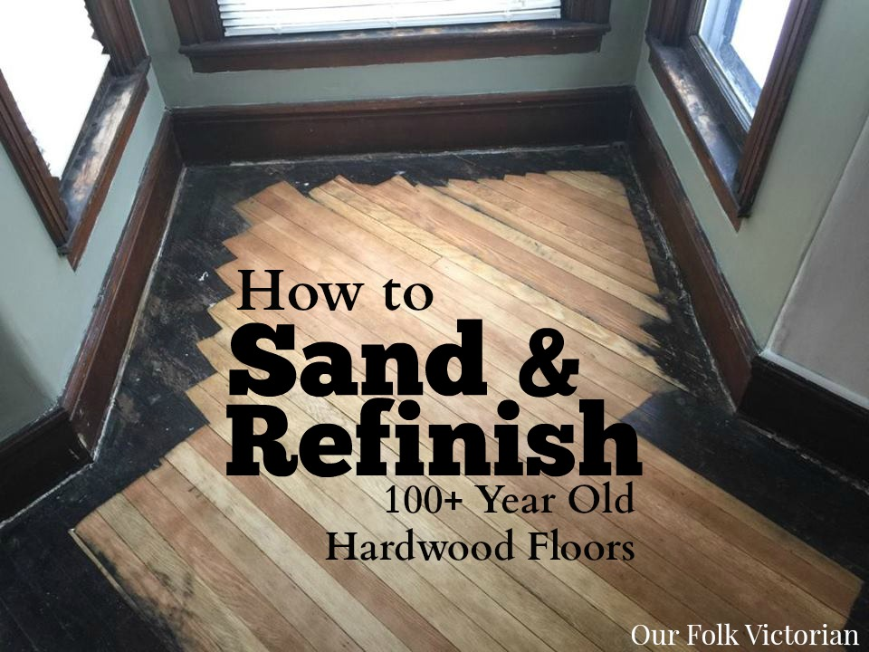 Sanding Historic Hardwood Flooring