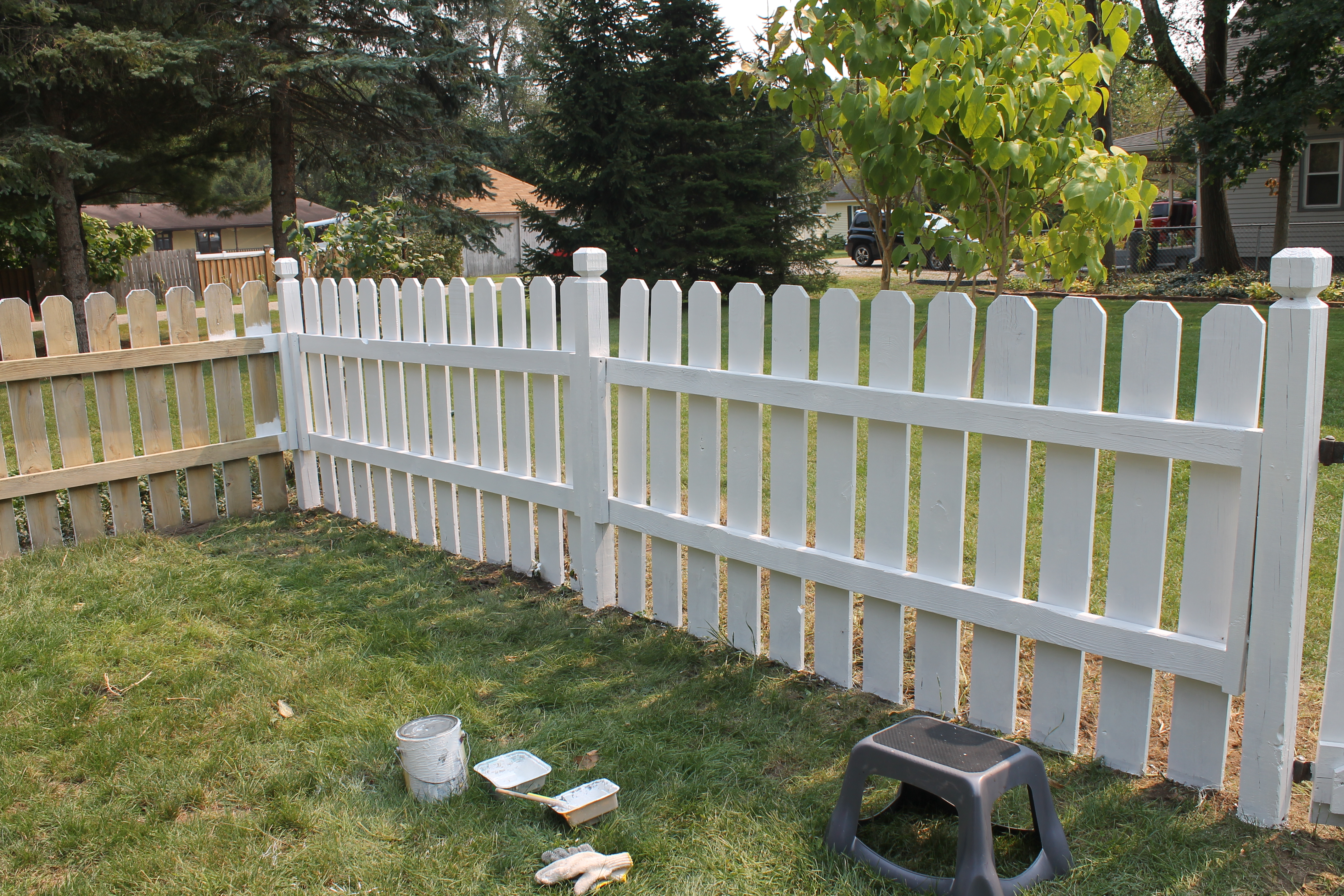 Restoring An Old Wooden Fence Our Folk Victorian